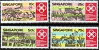 Singapore 1985 People's Association Set fine Mint