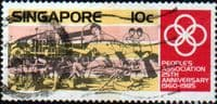 Singapore 1985 People's Association SG 503 Fine Used