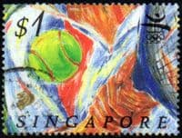 Singapore 1992 Olympic Games SG 685 Fine Used