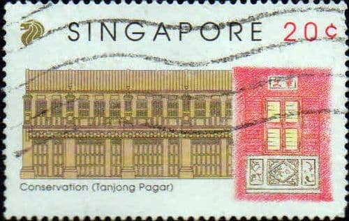 Singapore 1993 Conservation of Tanjong Pagar District SG 715 Fine Used