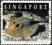 Singapore 1994 Reef Life SG 784 Fine Used