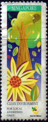 Singapore 1997 Ministry of the Environment SG 904 Fine Used