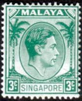 Singapore King George VI Issues