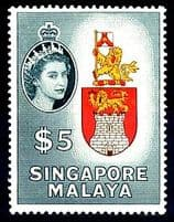 Singapore Queen Elizabeth Stamps 1953 - 1979