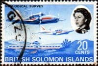 Solomon Islands 1968 Survey by Plane SG 175 Fine Used