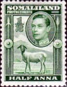 Somaliland Protectorate 1938 King George VI SG 93 Fine Mint