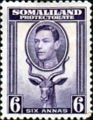 Somaliland Protectorate 1938 King George VI SG 98 Fine Mint