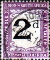 South Africa 1914 Post Due SG D3 Fine Used