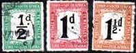 South Africa 1922 Post Due Set Fine Used