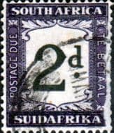 South Africa 1932 Post Due SG D26 Fine Used