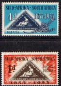South Africa 1953 Stamp Centenary Set Fine Mint