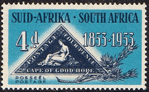 South Africa 1953 Stamp Centenary SG 145  Fine Mint