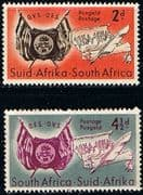 South Africa 1954 Orange Free State Set Fine Mint