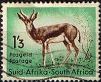 South Africa 1954 Wild Animals SG 160 Springbok Fine Used