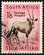 South Africa 1954 Wild Animals SG 161 Gemsbok Fine Used