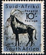 South Africa 1954 Wild Animals SG 164 Antelope Fine Used