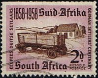 South Africa 1958 German Settlers Fine Used