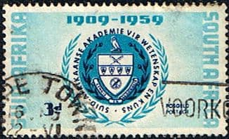 South Africa 1959 Academy of Science Fine Used