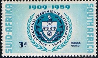 South Africa 1959 Academy of Science SG 169 Fine Mint