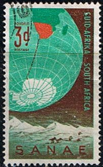South Africa 1959 Antarctic Expedition Fine Used