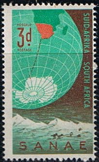 South Africa 1959 Antarctic Expedition SG 178 Fine Mint