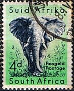 South Africa 1959 Wild Animals SG 173 Elephant Fine Used
