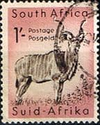 South Africa 1959 Wild Animals SG 175 Kudu Fine Used