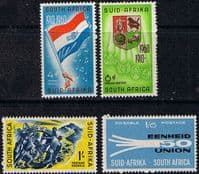 South Africa 1960 50th Anniversary of Union Set Fine Mint
