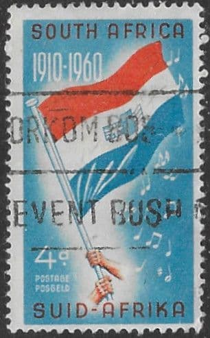 South Africa 1960 50th Anniversary of Union SG 179 Fine Used