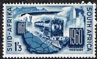 South Africa 1960 South African Railways Fine Mint