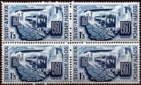 South Africa 1960 South African Railways Fine Mint Block of 4