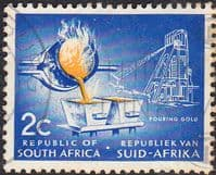 South Africa 1961 First Republick SG 201 Fine Used