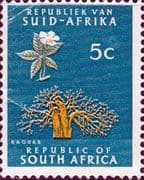 South Africa 1961 First Republick SG 215 Fine Mint
