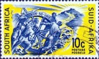 South Africa 1961  Wheel of Progress SG 193 Fine Used