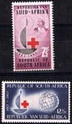 South Africa 1963 Red Cross Centenary Set Fine Mint
