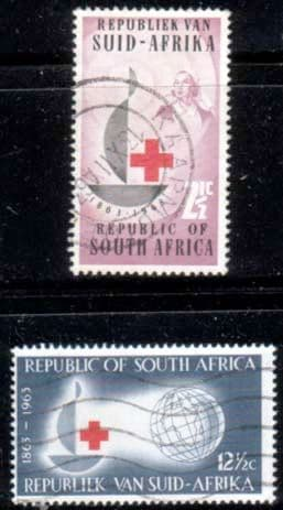 South Africa 1963 Red Cross Centenary Set Fine Used
