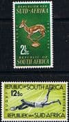 South Africa 1964 Rugby Board Set Fine Mint