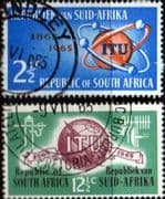 South Africa 1965 l.T.U. Centenary Set Fine Used