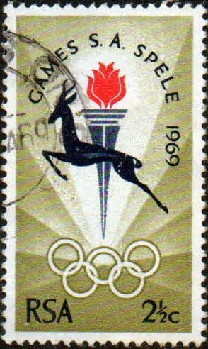 South Africa 1969 Bloemfontein Games SG 278 Fine Used