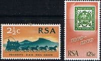 South Africa 1969 First Republican Stamps Set Fine Mint