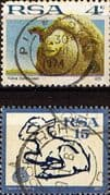South Africa 1972 Sheep and Lamb Set Fine Used