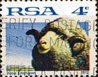 South Africa 1972 Sheep SG 310a Fine Used