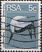 South Africa 1974 Flowers Birds and Fish Coil SG 372 Fine Used