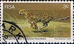 South Africa 1976 World Environmental Day Animals SG 404 Fine Used