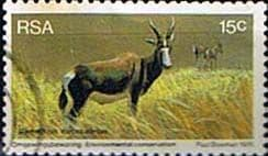 South Africa 1976 World Environmental Day Animals SG 406 Fine Used