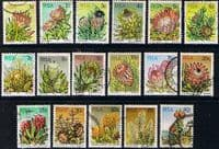 South Africa 1977 Proteas and Succulents Set Fine Used