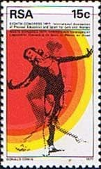 South Africa 1977 Sports for Girls Fine Mint