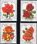 South Africa 1979 Flowers World Rose Convention Set Fine Mint