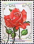 South Africa 1979 Flowers World Rose Convention SG 466 Fine Used