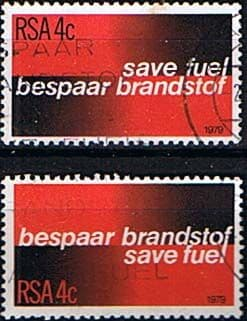 South Africa 1979 Fuel Conservation Set Fine Used